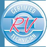RVIA Certified Technician Logo
